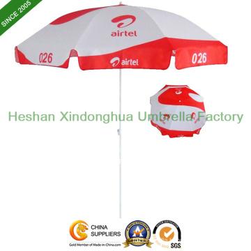 8ft Sun Outdoor Parasol Beach Umbrella for Promotional Display (BU-0054W)