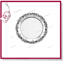 Best Selling! 10′′ Flower Rim Metal Plate by Mejorsub