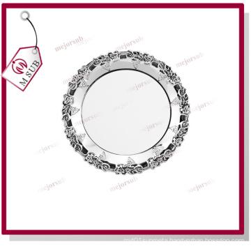 Best Selling! 10′′ Flower Rim Metal Plate by Mejorsub