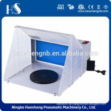 HS-E420 portátil aerógrafo escova / cabine de pulverização