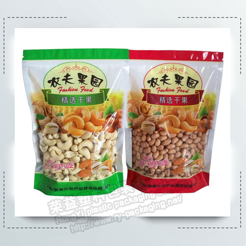 Dried Fruit Packaging Bags with Visual Window