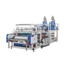 Guangzhou Blasfolie Doppelschicht Co-Extrusion Stretchfolie Maschine