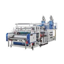 guangzhou blown film Double layer co-extrusion stretch film machine