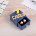 Cheap jewelry box drawer earring packaging box