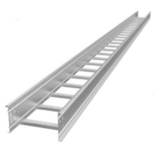 Bandeja de cable de escalera de aluminio de aleación colgante para exteriores
