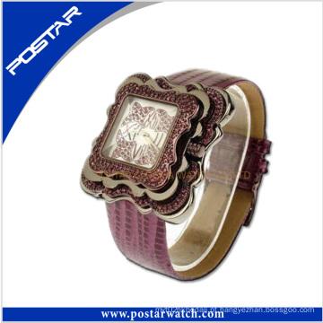 Relógio de Moda a + Qualidade Relógio de Quartzo Impermeável para Mulher