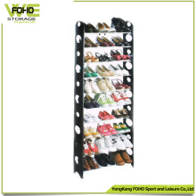 Custom Display Rack Waterproof Storage Plastic Shoe Rack