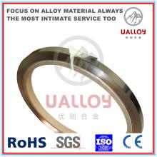 Fil haute Nickel alliage Nimn2 Nickel-manganèse pour matériel de bougie