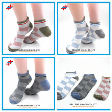 cozy cotton argyle sock custom logo