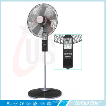 The Lastest 16inch or 18inch Standing Battery Fandc Double Use Solar Fans