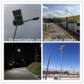 9 meters 80w solar street light with pole solar led street light