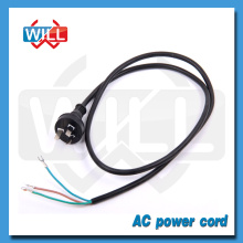 Factory SAA 2pin 3pin Australian standard stripped power cord