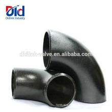 ANSI B16.9 120 Grados 135 15 Tubos 180 22.5 Acero al carbono 90 grados Codo de manga de compresión