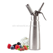 Wholesale 0.5L Stainless Steel Portable Cream Milk Powder Whipper Dispenser With SS Holder