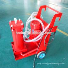 Fabricante de carros de filtro portátiles de carros de filtro de aceite portátiles hechos en China