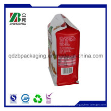Embalagem de alimentos para animais de estimação 8 Side Sealed Ziplock Bag