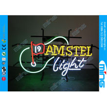 Oem Window Glass Neon Sign Lamp / Advertising Neon Light Signs