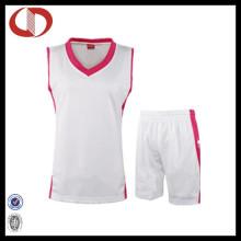Uniformes de baloncesto profesional por encargo para las mujeres