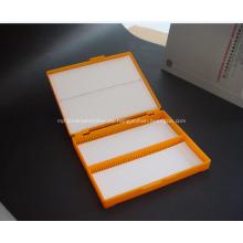 Caja de almacenamiento de diapositivas 100pcs