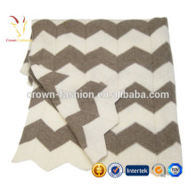 Pattern Cashmere Baby Knitted Blanket Wholesale