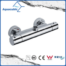 Bathroom Shower Brass Chromed Anti-Scald Thermostatic Tap (AF4112-7)