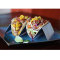 Taco Holder Stand de acero inoxidable 4 paquetes