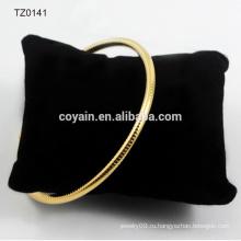 Антикварное золото индийской манжеты закуски цепи браслет браслет