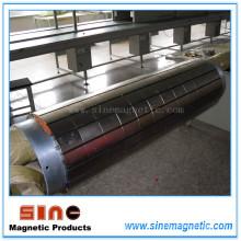 Rodillo magnético permanente (polea magnética)