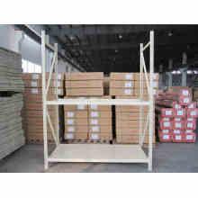 Sistema de estantería de almacenamiento industrial con certificación ISO