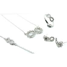 El más nuevo diseño para la mujer 925 sistemas de plata de la joyería (S3316)