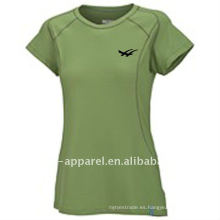 2014 nueva llegada llanura camisa de tenis de las mujeres, ropa de tenis
