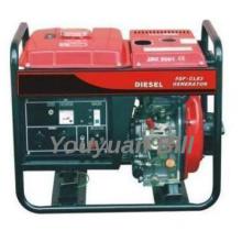 Open type Diesel Generator with wheel 2kW 170F