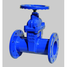 Válvula de gaveta de ferro dúctil DIN3352 F5