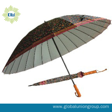 Good Quality Windproof Advertising Golf Umbrella