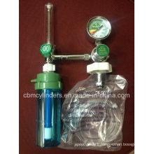 Ce0120 & ISO13485 Approved Medical Oxygen Regulator