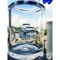 18inch 5thickness Honeycomb Ball Birdcage Perc Glas Rauchen Wasser Rohr
