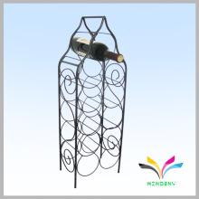 Support de métal support en métal 10 magasins de stockage de bouteilles porte-vin en fil
