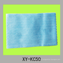 wave colored nonwoven washing cloth