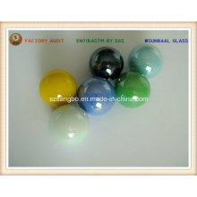 Bola de mármol de cristal de Color opaco