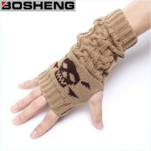 Women Fingerless Half Gloves, Winter Warm Knitted Gloves