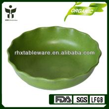 Eco bamboo fiber fruit plate