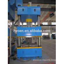 Prensa hidráulica de 4 columnas para el fregadero de la cocina del acero inoxidable