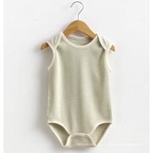 Sommer-Baumwoll-Baby-Unisex-reizender Sleeveless Spielanzug