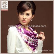 Dernière conception en soie Pashmina écharpe et châle en gros