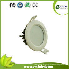 Techo redondo impermeable de la prenda impermeable IP65 abajo del CE ligero RoHS