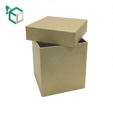 foldable square top and base craft paper storage packaging box