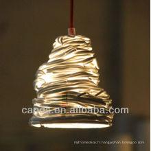 Décoration de maison à la main Creative Art Lampes de plafond