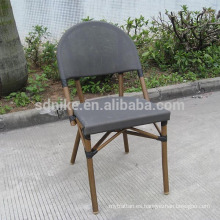 TC- (3) Silla moderna de la tela del teslin / silla que cena del textil