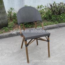 TC- (3) Chaise moderne en tissu teslin / chaise à manger en textile
