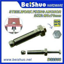 Stainless Steel A4-70 Steelwork Expansion Anchor Bolt